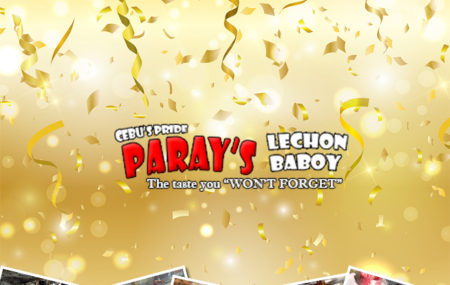 "Make Paray's Lechon a part of your special celebrations. May it be birthdays, anniversaries, fiestas, company outings, Paray's Lechon will make sure to deliver the ""Taste that you won't forget."" Call us now or order through our website parayslechon.com"